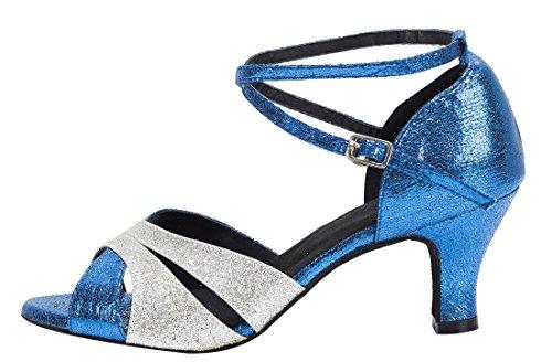 Blue Heel Silver Moderno Donna Jazz 6cm e Joymod MGM 7wXv88