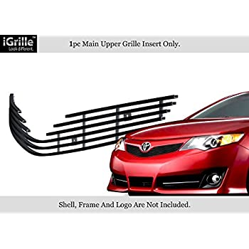 APS Compatible with 2012-2014 Toyota Camry SE Billet Grille Grill Insert S18-A33966T