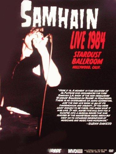 Samhain Danzig Live LA 1984 DVD Promo Poster