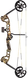 Barnett Vortex Youth Compound Bow, 19-45lbs Draw Weight, Mossy Oak Break-Up Country Camo