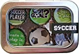 Kate Grenier Designs Soccer Bottle Cap Magnets