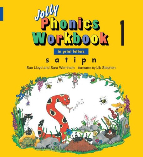 Jolly Phonics Workbook 1: In Print Letters: S, A, T, I, P, N