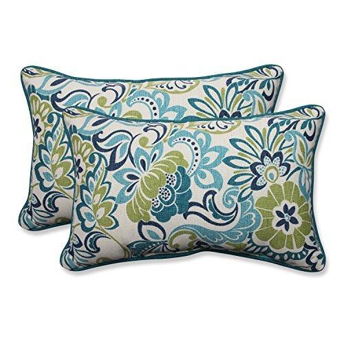 Pillow Perfect Outdoor/Indoor Zoe Mallard Rectangular Throw Pillow (Set of 2) [並行輸入品] B07R82TR73