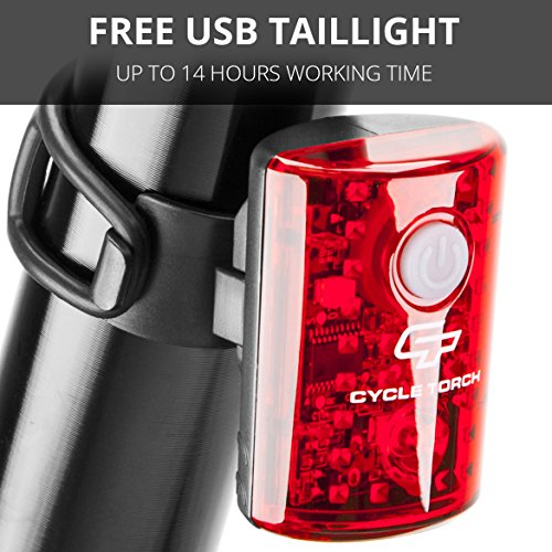 Buy bike light red knog