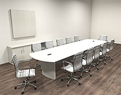 Amazoncom Modern Contemporary Feet Conference Table MTMED - 14 foot conference table