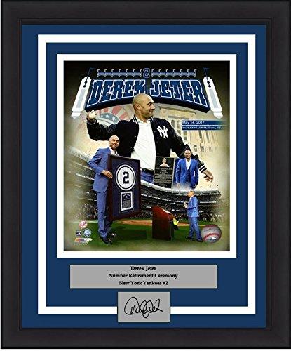 Derek Jeter Replica Baseball Jersey (New York Derek Jeter Retirement Collage 8