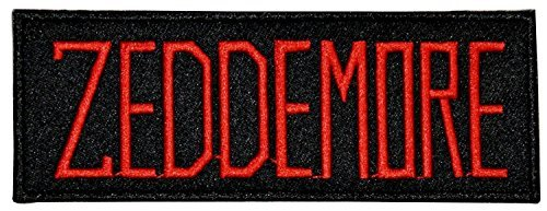 Ghostbusters Movie ZEDDEMORE Uniform Name Chest PATCH by Main Street - Street Main Shopping Perth