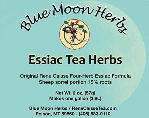 Essiac Tea Herbs organic with Sheep sorrel root included - 2 (Blue Sheep)