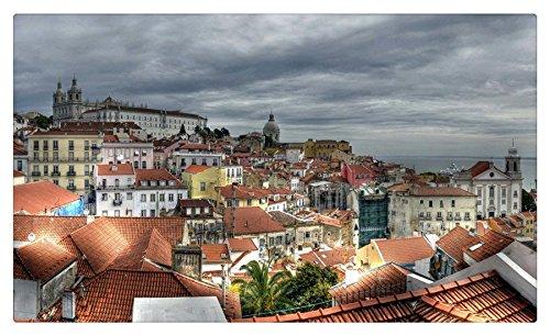 Portugal Houses Lisbon Cities travel sites Postcard Post card