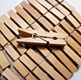 "Sturdy Small Craft Clothespins 1 3/4"" - 96/pkg"