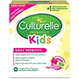 Culturelle Kids Packets Daily Probiotic Supplement | Helps Support a Healthy Immune & Digestive System* | For Children Age 1+ | #1 Pediatrician Recommended Brand | 30 Single Packets