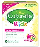 Culturelle Kids Packets Daily Probiotic Formula, One Per Day Dietary Supplement, Contains 100% Naturally Sourced Lactobacillus GG –The Most Clinically Studied Probiotic†, 30 Count (packaging may vary)