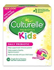 Culturelle Kids Packets Daily Probiotic Formula with Naturall...