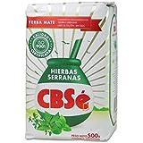 CBSe Yerba Mate Energia | Energy Herbal Tea 500 gr. (2 Pack) Gluten Free - New Packaging.