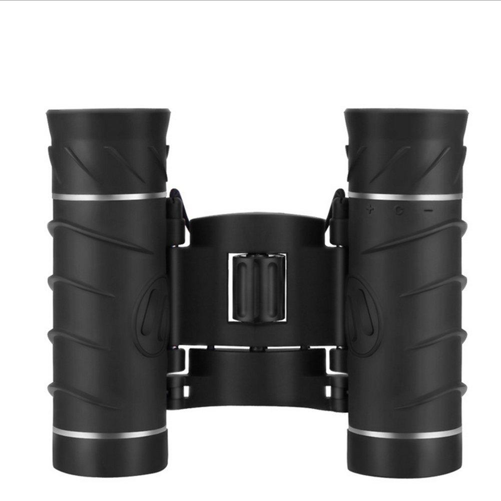 Miaozaigou Fernglas High-Definition-Nachtsicht Konzert Telefon Fotokamera Brille Vergrößerung 8-Fach (Schwarz)