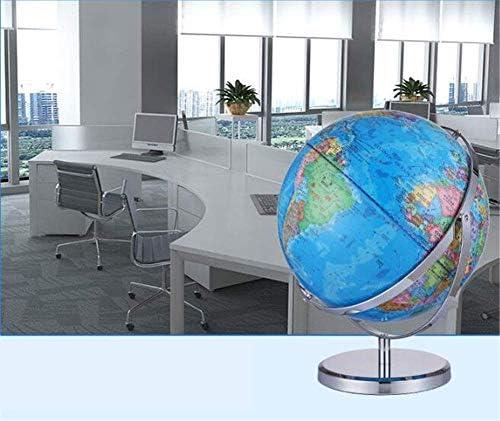 Geografische Wereld Globe voor Kinderen, 32Cm Interactieve Aarde Globe Desktop Politieke Globe voor Home Office Decoratie En Leraar Bureau