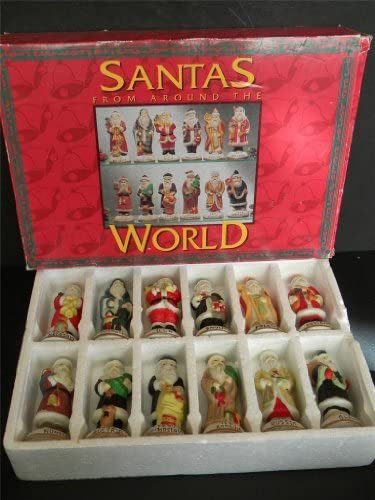 SANTAS FROM AROUND THE WORLD PORCELAIN SET