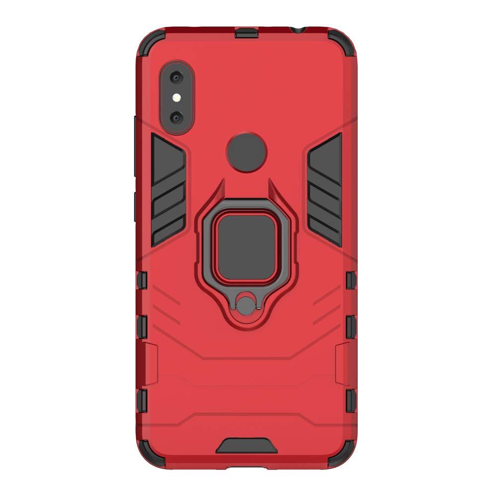 Amazon.com: Xiaomi Redmi Note 6 Case, SsHhUu Ring Holder ...