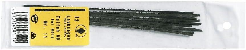 3 H/&G Laubs/ägeblatt Taifun Holz-Kunststoff