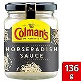 4X Colman's Horseradish Sauce 136g