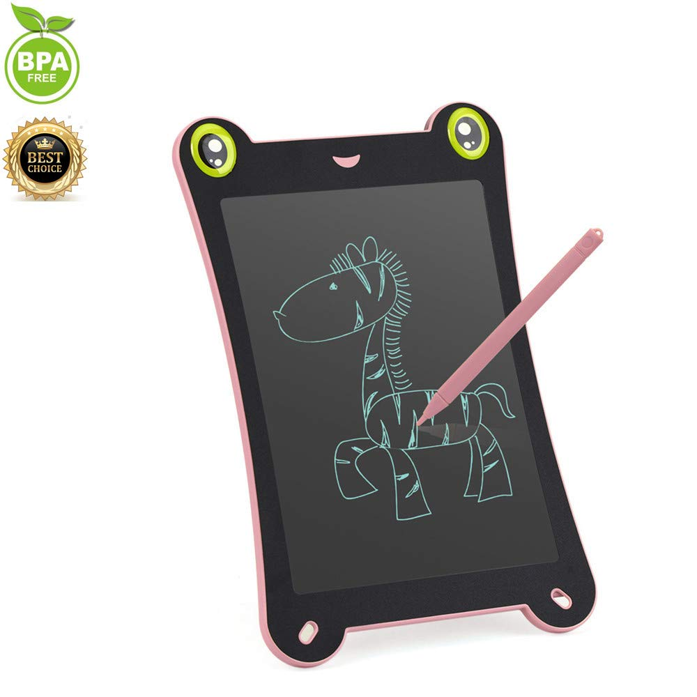 Electronic Writing Board YoShine 8.5 Inch LCD Drawing Tablet Doodle Pad Gifts for Kids Board Games for Families Office Memo Graphic Writing Tablet for Teacher Student Designer Carry Easily - Blue