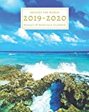 2019-2020: 16-Month Weekly and Monthly Planner/Calendar Sept 2019-Dec 2020 Mexico Blue Ocean Water Travel Tropical Tourist