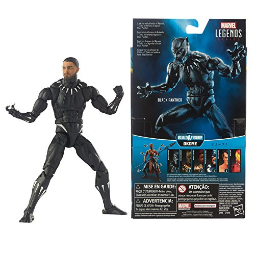 Marvel Black Panther Legends Series Black Panther, 6-inch