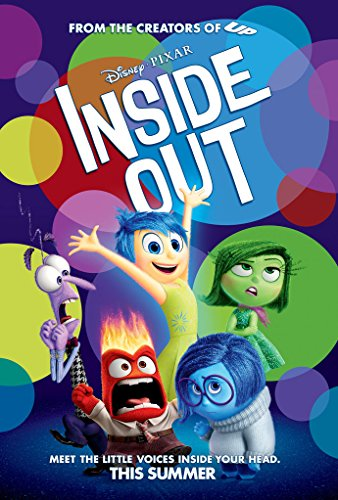 Inside Out Movie Poster 2 Sided Original Summer Disney