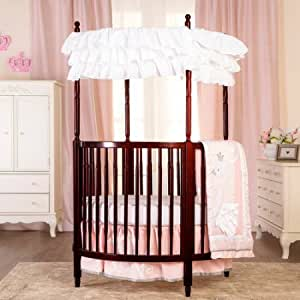 Dream On Me Sophia Posh Circular Crib (Espresso)