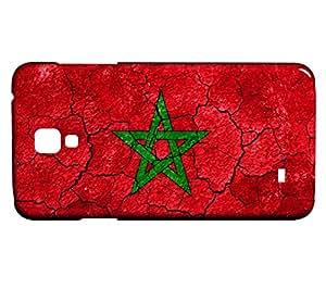 Funda Carcasa para Galaxy S4 Bandera MARRUECOS 03