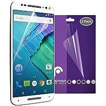 Motorola Moto X Style Screen Protector, Fosmon [3-Pack] Screen Protector HD CLEAR [Japan 3H Hard Coating Film] Screen Shield for Motorola Moto X Pure Edition / Motorola Moto X Style