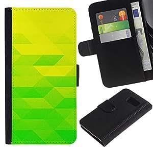 JackGot ( Amarillo verde lima ) Sony Xperia Z1 Compact / Z1 Mini (Not Z1) D5503 la tarjeta de Crédito Slots PU Funda de cuero Monedero caso cubierta de piel