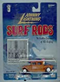 LAGUNA LONGBOARDS * BROWN * Johnny Lightning 2000 SURF RODS Release One 1:64 Scale Die Cast Vehicle