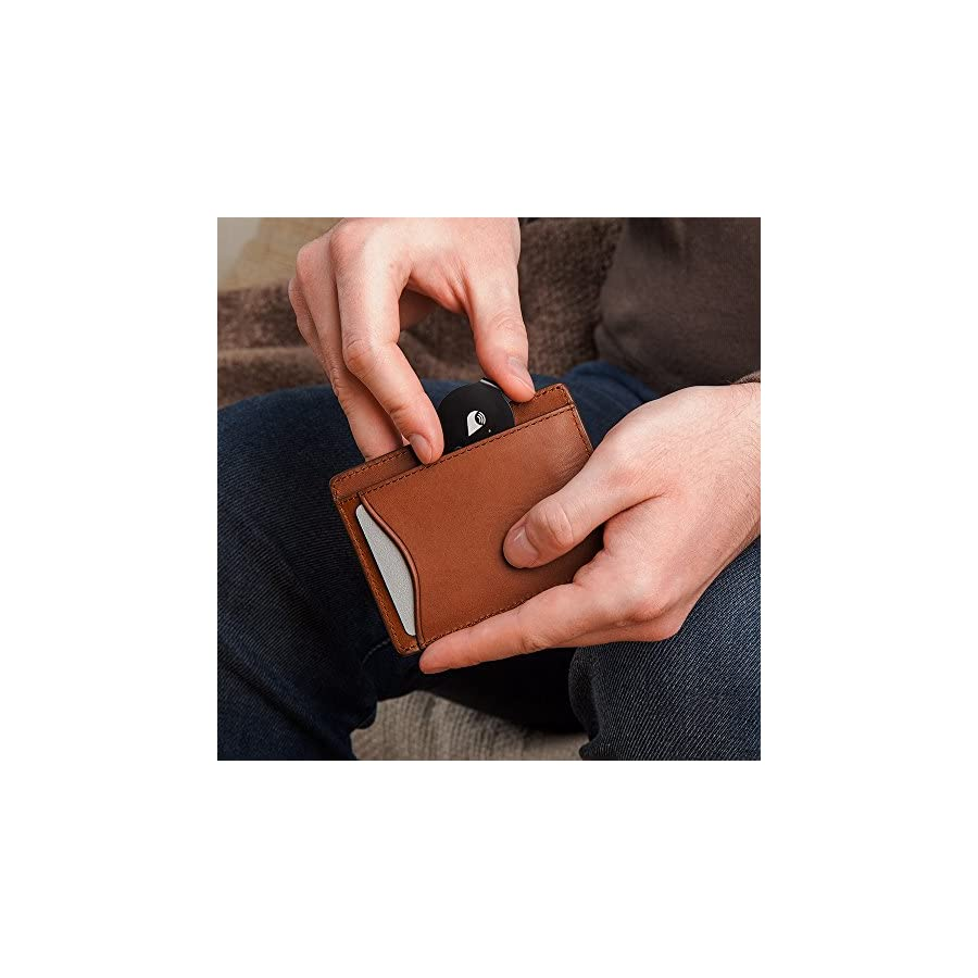 TrackR Bravo Bluetooth Tracking Device. Key Tracker. Phone Finder. Wallet Locator. Generation 2.5