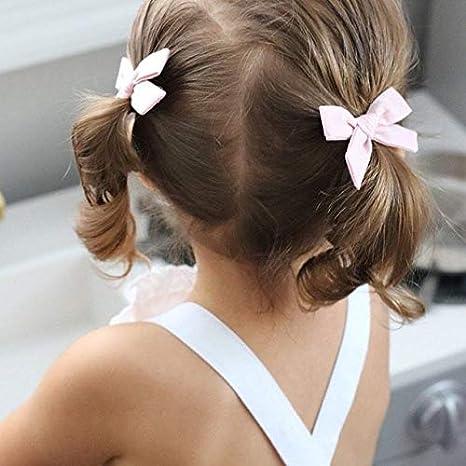 Juego de lazos para el pelo, para niña pequeña, con estampado ...