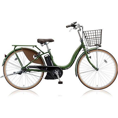 ブリヂストン(BRIDGESTONE) アシスタファイン A6FC18 26インチ 電動アシスト自転車 専用充電器付 B075SC1565 E.Xナチュラルオリーブ E.Xナチュラルオリーブ
