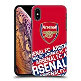 Official Arsenal FC Impact 2018/19 Crest and Gunners Logo Hard Back Case for iPhone 7 Plus/iPhone 8 Plus