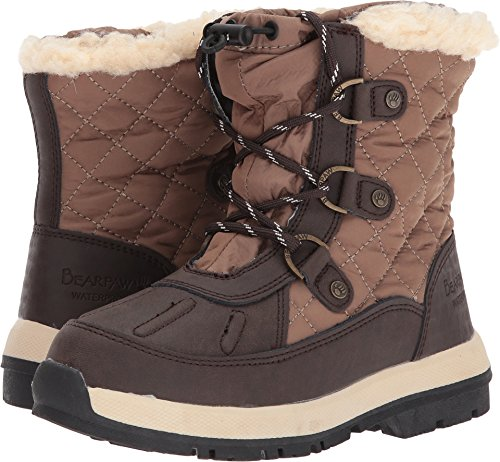 Price comparison product image Bearpaw Girls' Bethany Youth-K, Chocolate/Khaki, 13 M US Little Kid
