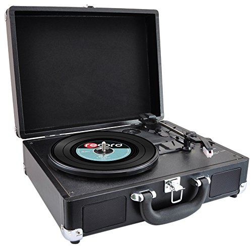 Pyle Home Durable; Reliable Turntable Black (AZPVTTBT6BK) by Pyle