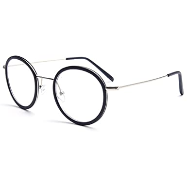 370b2ca8a41c Image Unavailable. Image not available for. Colour  GRAFIT Unisex(Women s  Men s) Optical Frame Classic Fashion Glasses Frame Clear Lens Glasses Autumn