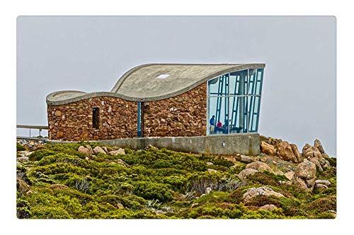 Tree26 Indoor Floor Rug/Mat (23.6 x 15.7 Inch) - Lookout Observation Deck Tourism Mt ()