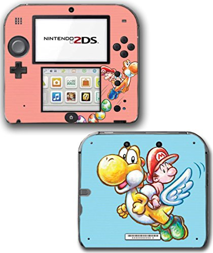 Yoshi's New Island Super Mario Bros Mario Video Game Vinyl Decal Skin Sticker Cover for Nintendo 2DS System Console (Nintendo Ds Island Yoshis)