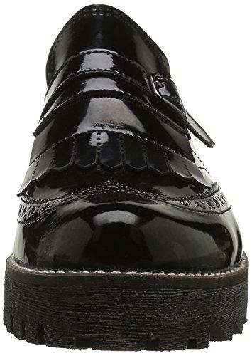 Mocassini Nero Katy 00152 black Donna Shoes Marc IwOxEw