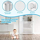 Retractable Baby Gate Safety Fence,Mesh Safety Gate