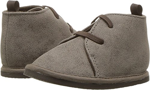 Baby Deer  Baby Boy's First Steps Desert Boot (Infant/Toddler) Taupe (24 Baby Footwear Boots)