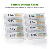 EBL 2800mAh Ni-MH AA Rechargeable Batteries