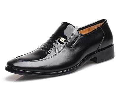 Shiney chaussures habillées pour hommes bureau de robe de mariée