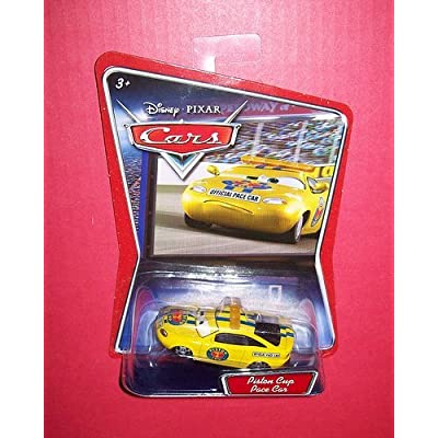 Disney Pixar Cars Piston Cup Pace Car: Toys & Games