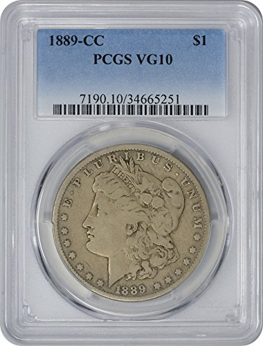1889 CC Morgan Dollar VG10 PCGS