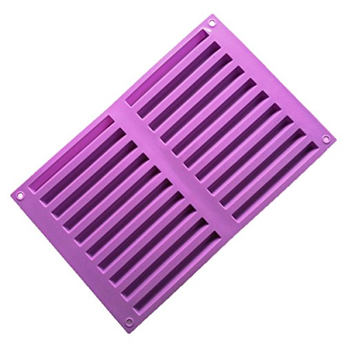 Allforhome(TM) 20 Triangle Silicone Cake Baking Mold Cake Pan Muffin Cups Chocolate Ice Cube Tray DIY Molds